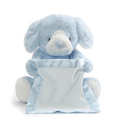 "Peek-A-Boo 10"" Plush Toy Bunny - Blue"