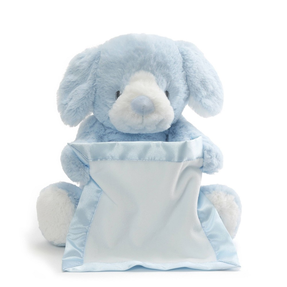 "Image of ""Peek-A-Boo 10"""" Plush Toy Bunny - Blue"""