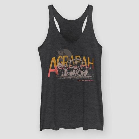 ec51850fc87d6f Women's Aladdin Agrabah Mystery Tank Top (Juniors') - Black Heather ...