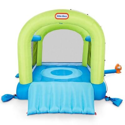 Little Tikes Splash 'n Spray Indoor/Outdoor 2-in-1 Inflatable Bouncer