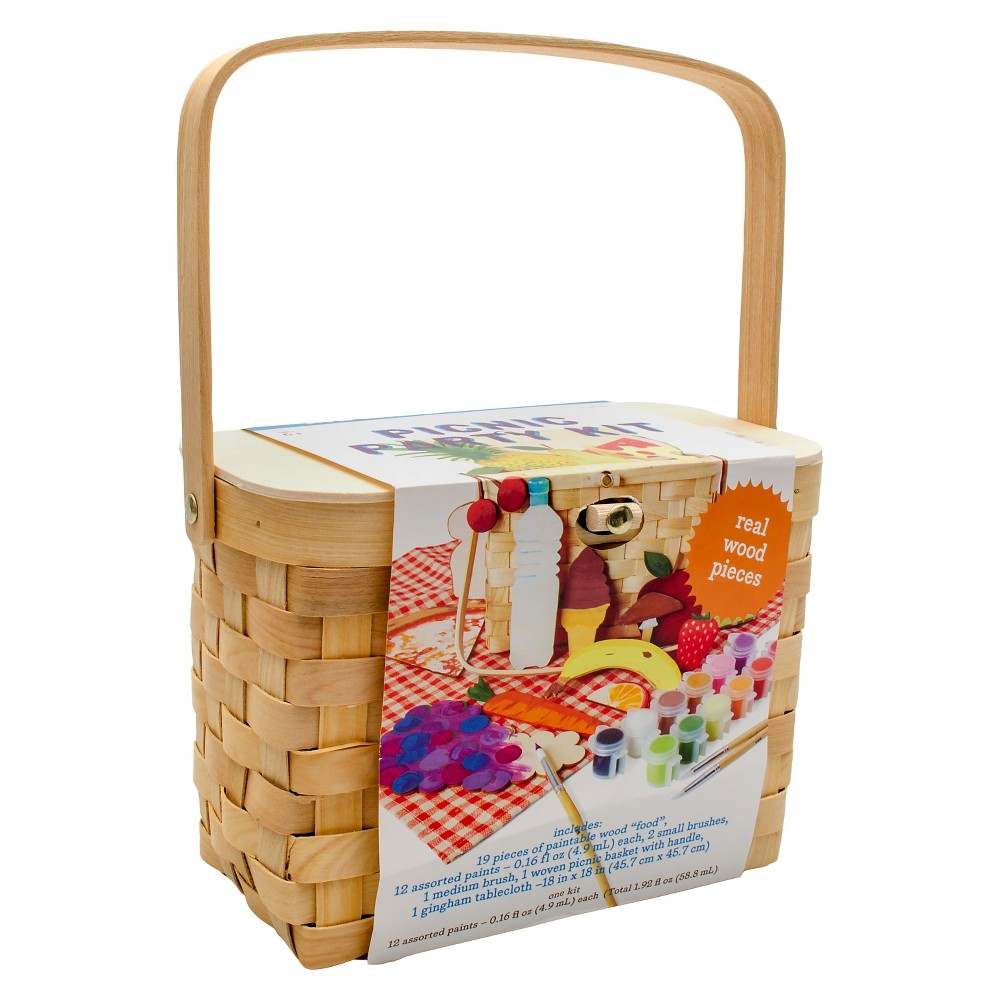 Kid Made Modern Picnic Party Kit, Multi-Colored