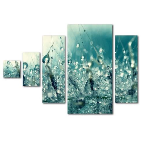 5pc Under the Sea by Beata Czyzowska Young - Trademark Fine Art - image 1 of 4