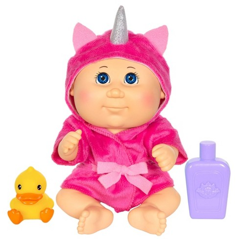 Cabbage Patch Kids Bubble 'n Bath - Unicorn Robe Blue Eyes 1 - image 1 of 3