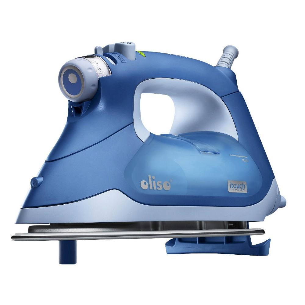 Image of Oliso Smart Iron - Blue, Garment Irons