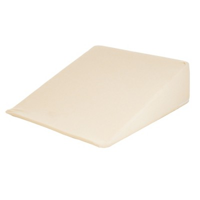 Yorkshire Home Standard Wedge Memory Foam Support Pillow White
