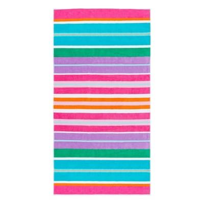 Cape Cod Party Beach Towel Summer Purple/Pink - Caro Home