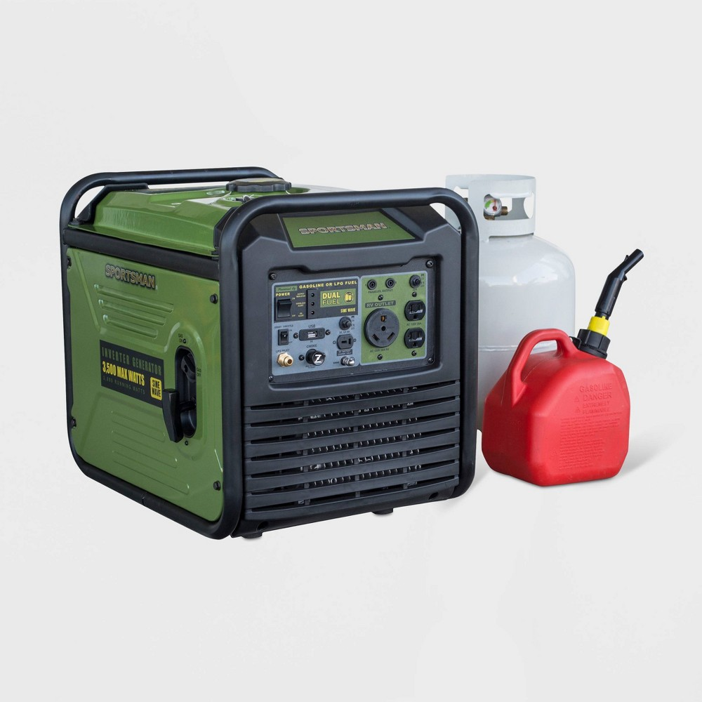 "Image of ""18"""" 3500W Plastic Dual Fuel Inverter Generator For Sensitive Electronics - Sportsman"""