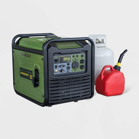 "18"" 3500W Plastic Dual Fuel Inverter Generator For Sensitive Electronics - Sportsman - image 1 of 6"