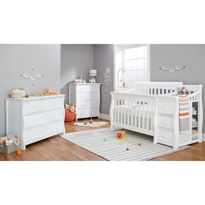 Sorelle Princeton Elite Crib & Changer White