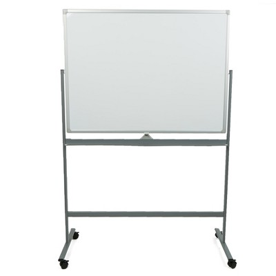 Mind Reader Portable Magnetic Dry Erase Double Sided Easel, White