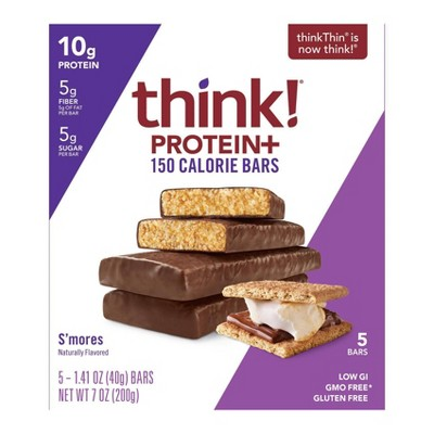 think! Protein + 150 Calorie S'mores Bars - 1.41oz/5ct