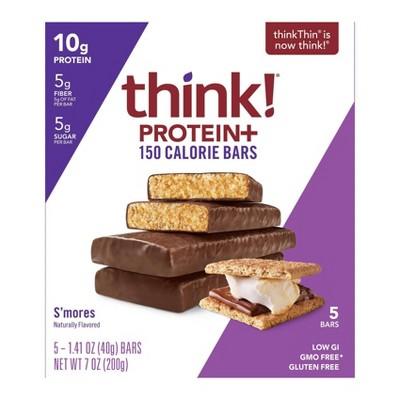 Granola & Protein Bars: thinkThin Protein+ 150 Calorie Bar