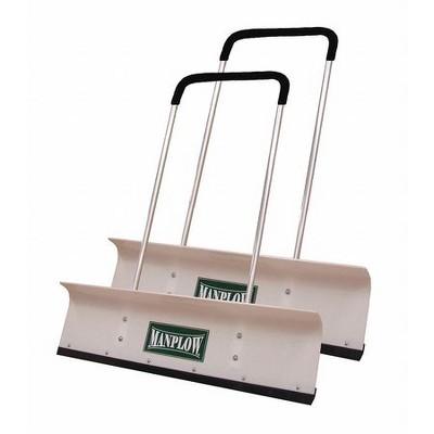 """MANPLOW PRO42 2PK 42"""" HDPE Snow Shovel with 48"""" Aluminum Handle"""
