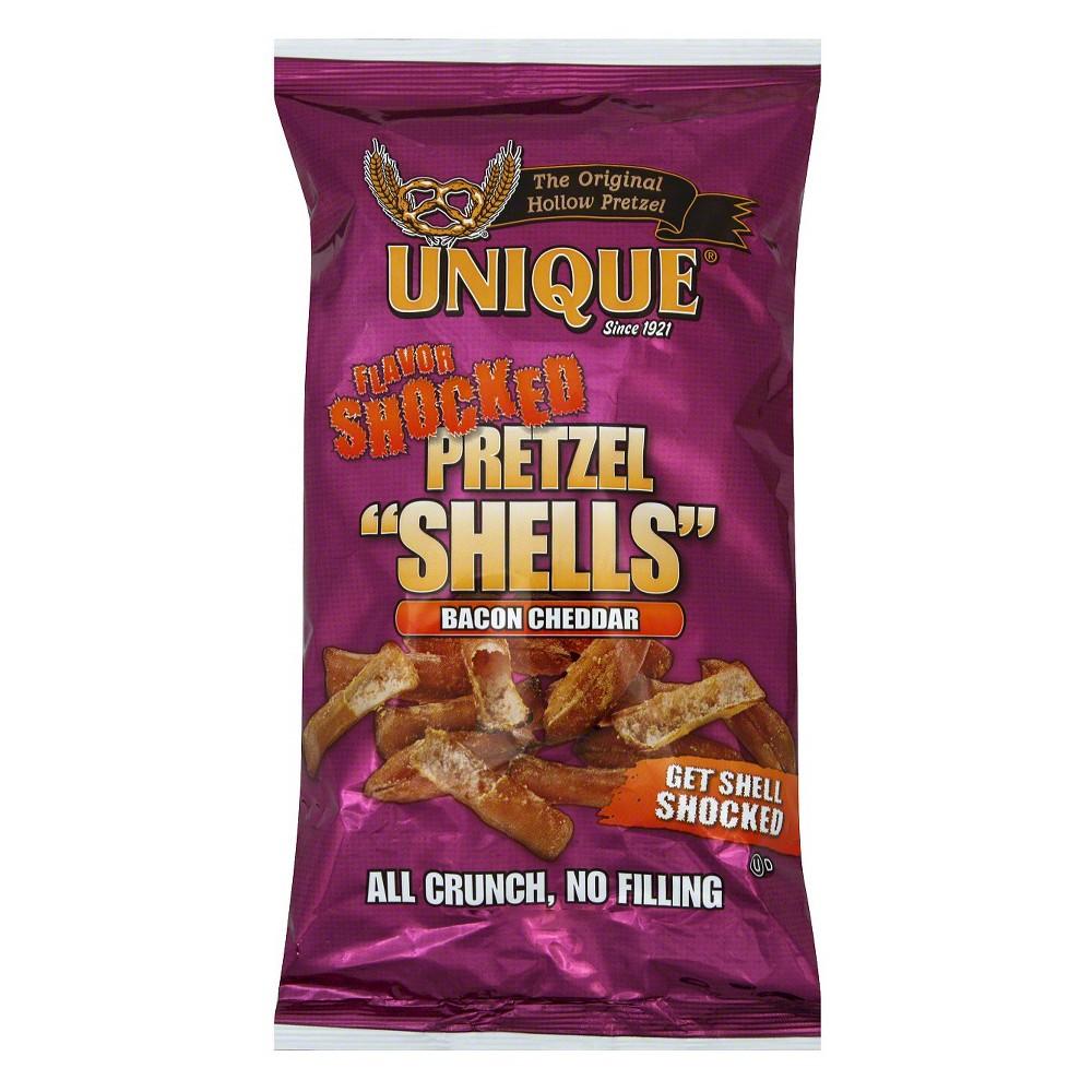 Unique Bacon Cheddar Shells Pretzels 12 pack