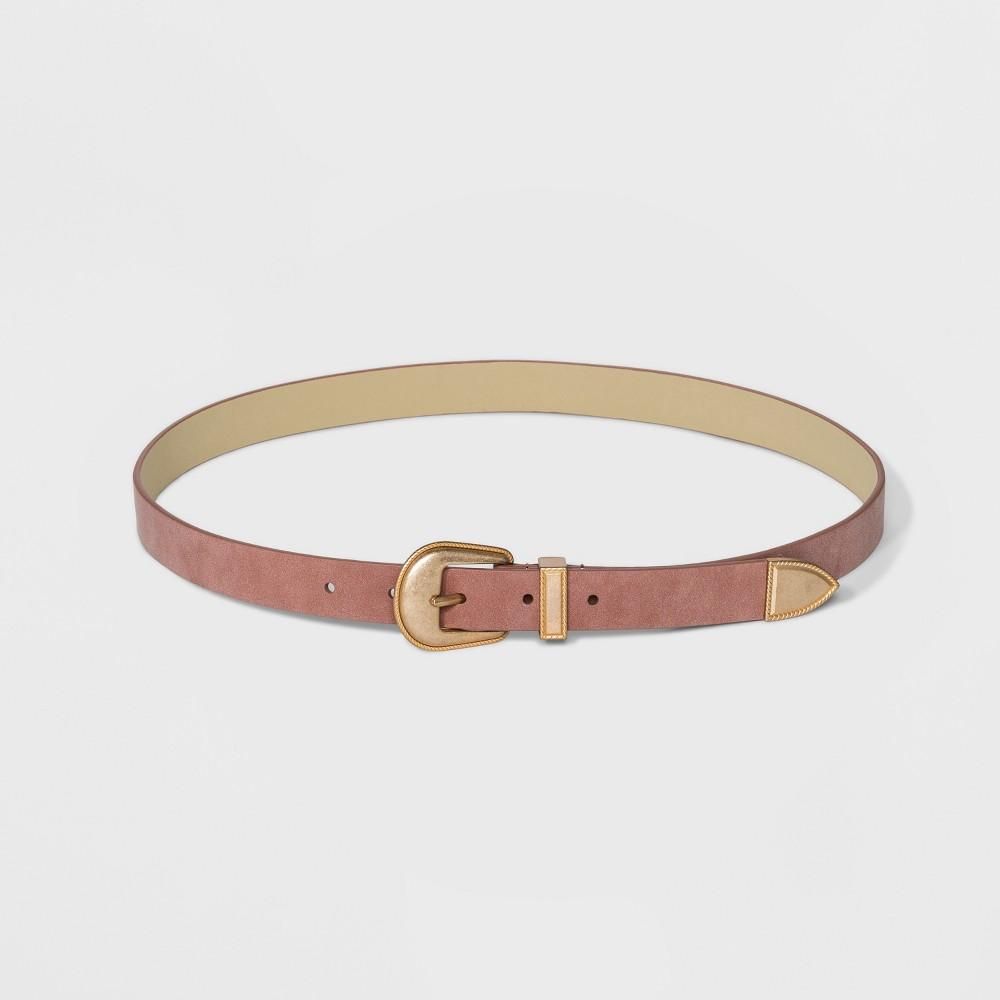 Womens Western Belt Universal Thread Blush Xl Pink