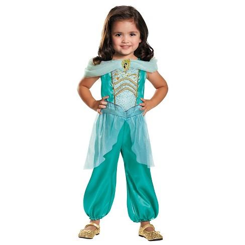 Disney Princess Girls' Jasmine Classic Costume - Small (4-6) - image 1 of 1