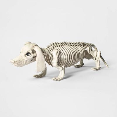 Skeleton Dachshund Halloween Decorative Prop - Hyde & EEK! Boutique™