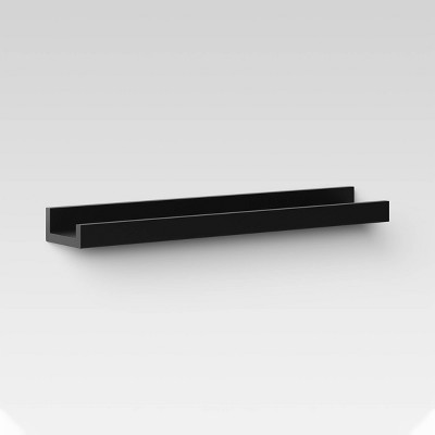 Picture Ledge Wall Shelf - Black - Threshold™