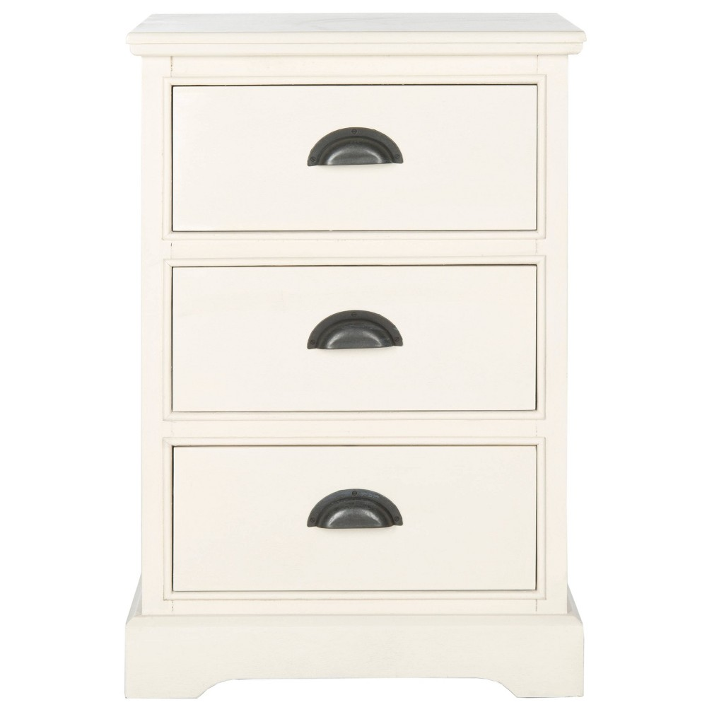 Biarritz Accent Table - White - Safavieh