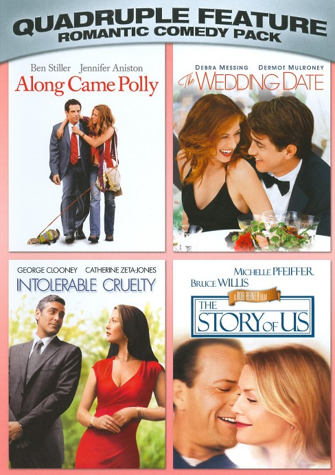 Romantic Comedy Pack Quadruple Feature (2 Discs) (dvd_video) - image 1 of 1