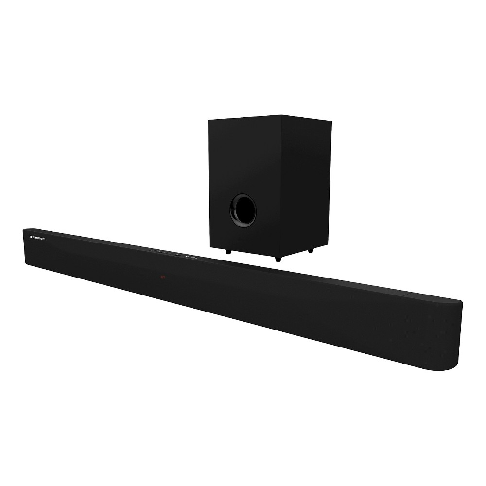 Element 2.1 Sound Bar with Wireless Subwoofer - Black (ESB206) Element sound bars and subwoofers bring state-of-the-art Bongiovi Digital Power Station technology to your home. Combine our enhanced audio with any TV for a sound that makes a big impression at a small price.