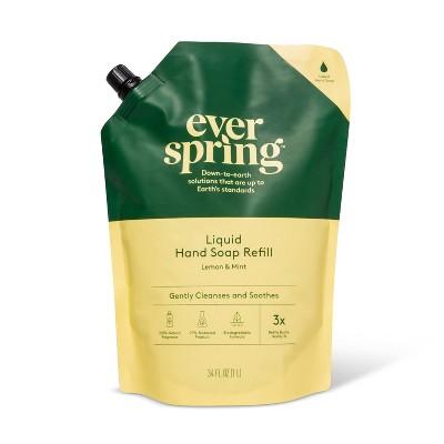 Liquid Hand Soap Refill - 34 fl oz - Lemon & Mint - Everspring™