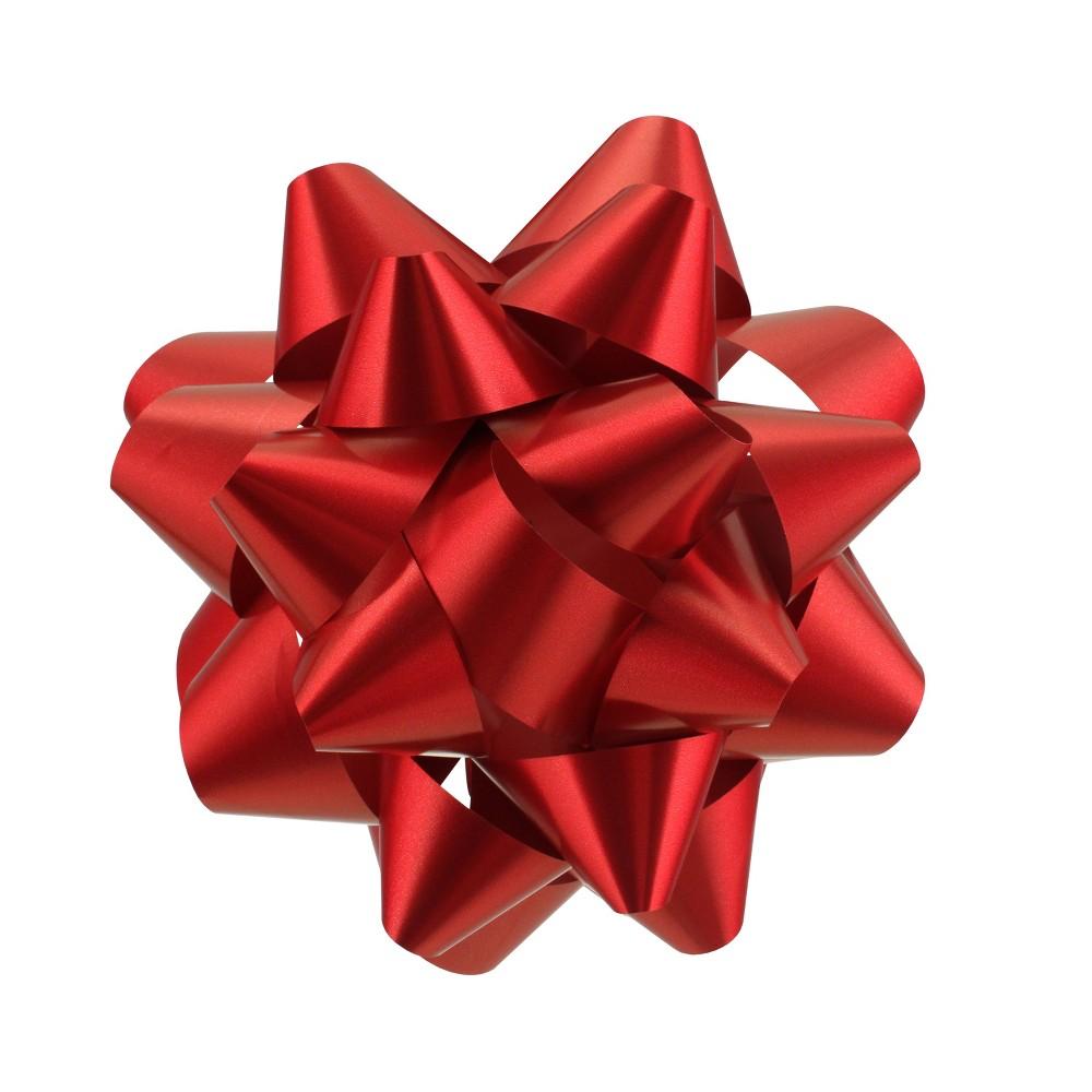 Red Matte Mega Gift Bow - Wondershop