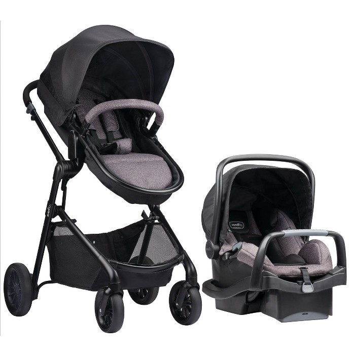 Evenflo Pivot Modular Travel System with SafeMax Infant Car Seat - image 1 of 29