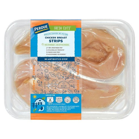 Perdue Fresh Cuts Chicken Strips - 0.8-1.6 lbs - price per lb - image 1 of 4