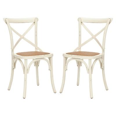 Franklin 18u0027u0027H X Back Farmhouse Chair (Set Of 2)   Safavieh