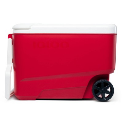 Igloo Wheelie Cool 38qt Portable Cooler - Red