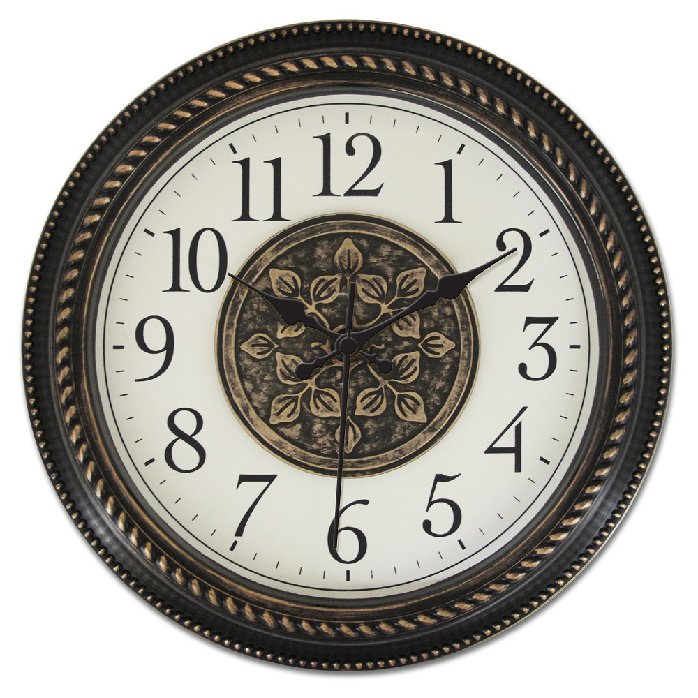 Image of 16 Waltham 2D Medallion Center Wall Clock - Waltham