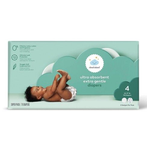 Club Pack Diaper - Size 4 (78ct) - Cloud Island™ - image 1 of 2