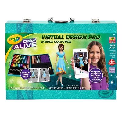 Crayola Virtual Design Pro Fashion Collection Target Inventory Checker Brickseek