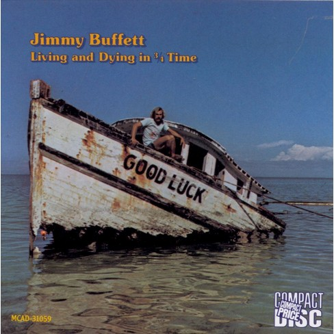 Jimmy Buffett - Living and Dying in 3/4 Time (CD) - image 1 of 4