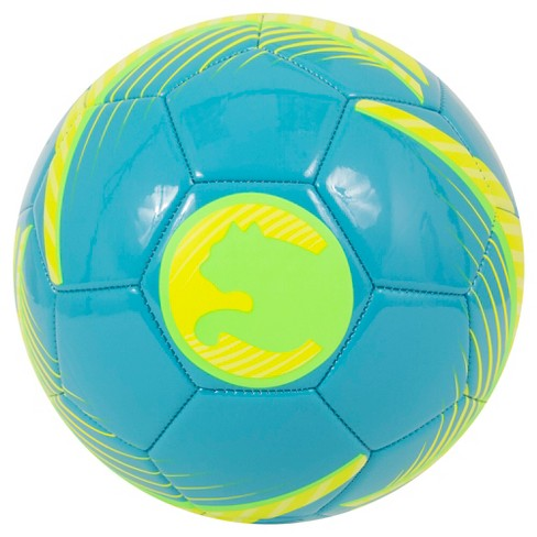 ProCat by Puma Size 5 Soccer Ball - Teal/Yellow - image 1 of 2
