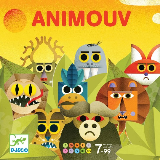 Animouv Board Game, board games image number null