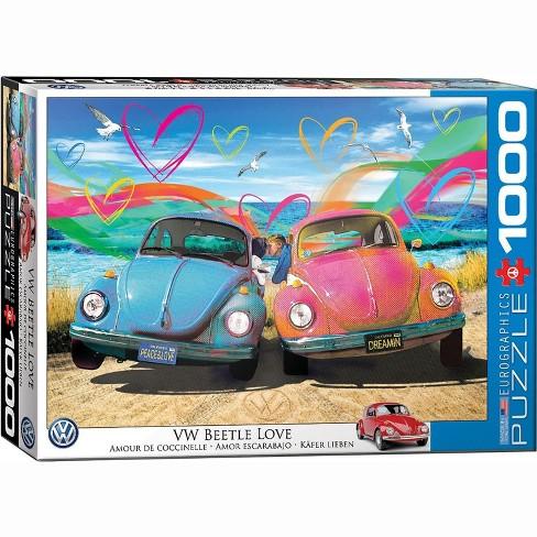 Eurographics Inc. VW Beetle Love 1000 Piece Jigsaw Puzzle - image 1 of 4