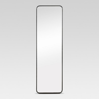 Over-the-Door Mirror Metal Black - Project 62™