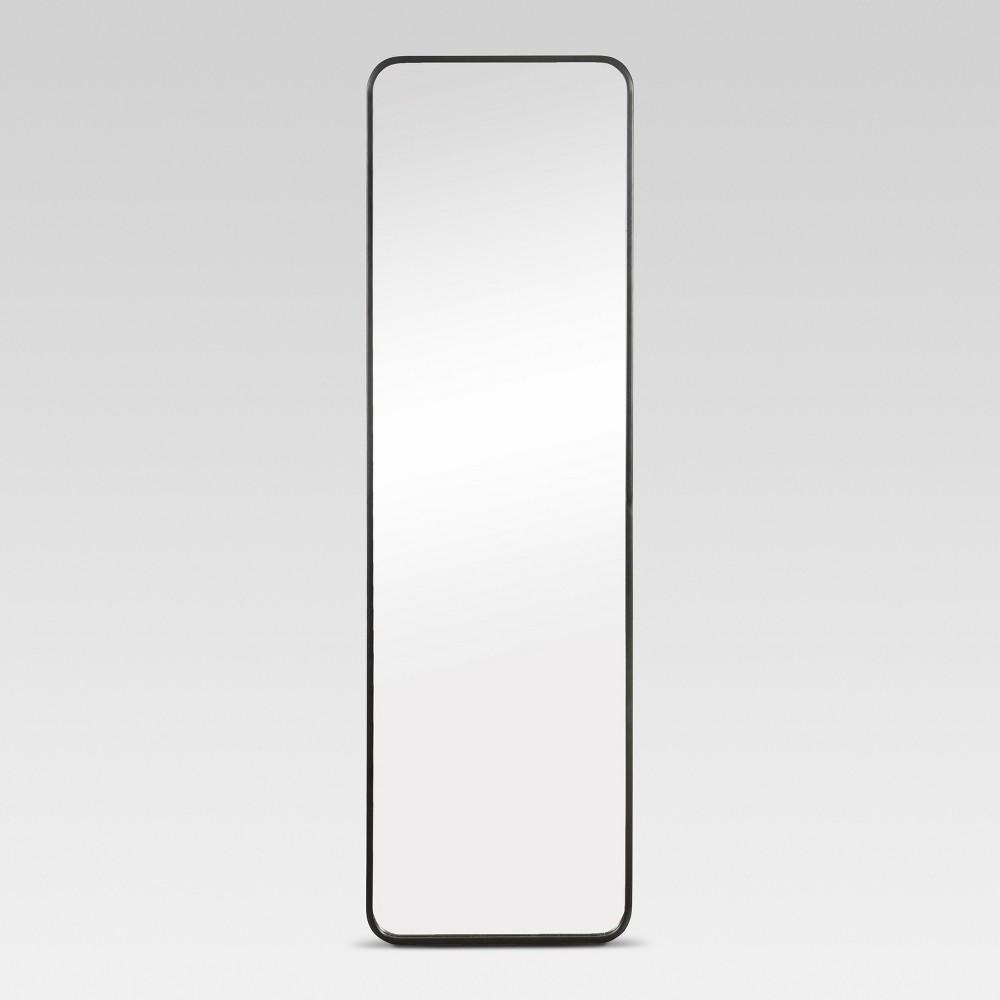 Image of Over-the-Door Mirror Metal Black - Project 62