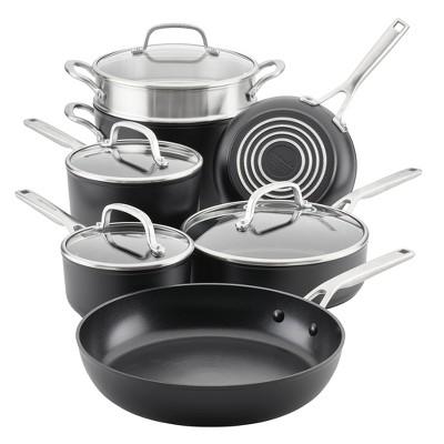 KitchenAid Hard-Anodized Induction 11pc Nonstick Cookware Set