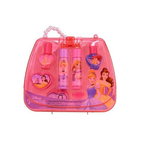 Lip Smacker Disney Tote Bag - Disney Princess - 7ct - image 1 of 3
