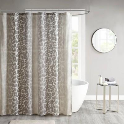 Shiva Cotton Gauze Shower Curtain Neutral
