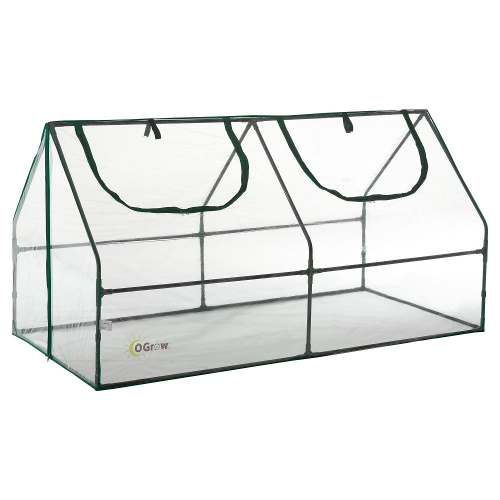 Image of Ultra Deluxe Compact Outdoor Seed Starter Greenhouse Cloche - Light Clear - Ogrow