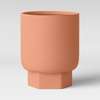 10  Hexagon Stoneware Planter Terracotta - Project 62™