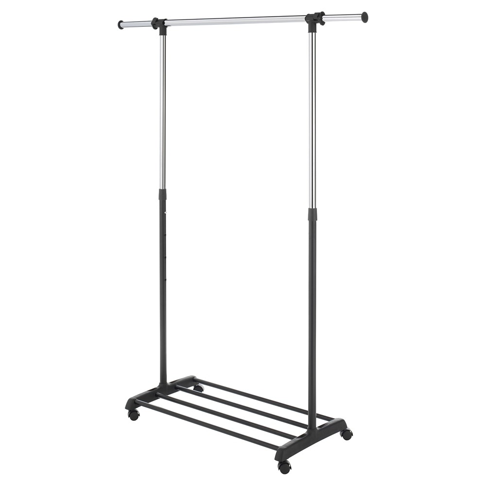 Image of Whitmor Deluxe Adjustable Garment Rack - Black