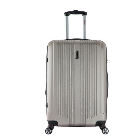 "InUSA San Francisco 22"" Hardside Spinner Suitcase - Champagne - image 1 of 4"