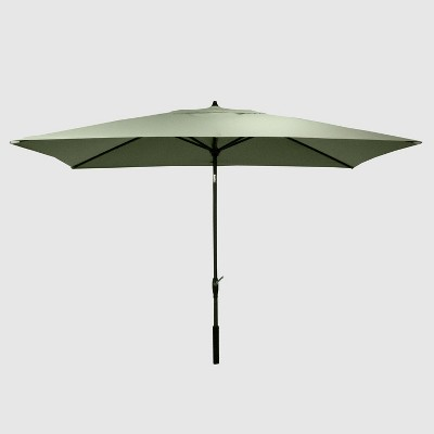 10' x 6' Rectangular Patio Umbrella DuraSeason Fabric™ - Threshold™