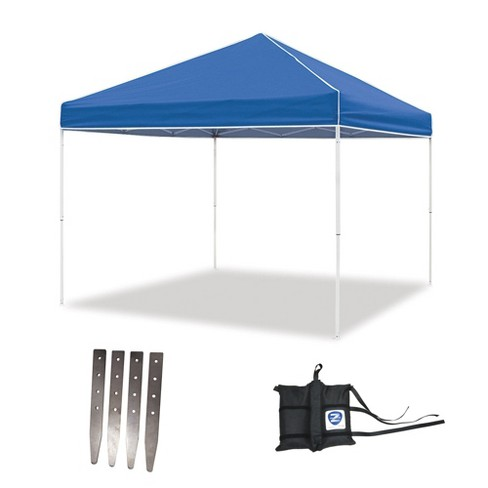 Pop Up Canopy Tent >> Z Shade 10 X 10 Foot Instant Pop Up Canopy Tent W Steel Stakes