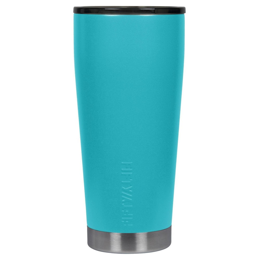 Fifty Fifty 20oz Stainless Steel Vacuum Insulated Tumbler Aqua